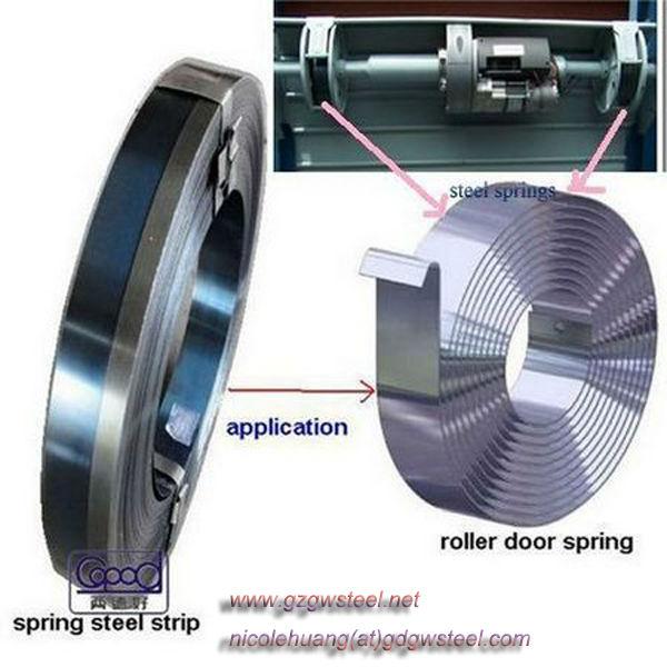 1.3x60mm Rolling Shutter Spring Steel Strip For Ressort Rideau ...
