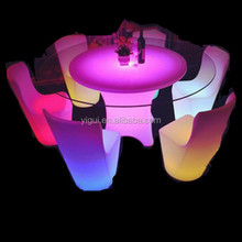 hot sale led glass bar table party cocktail tables wholesale led bar desk