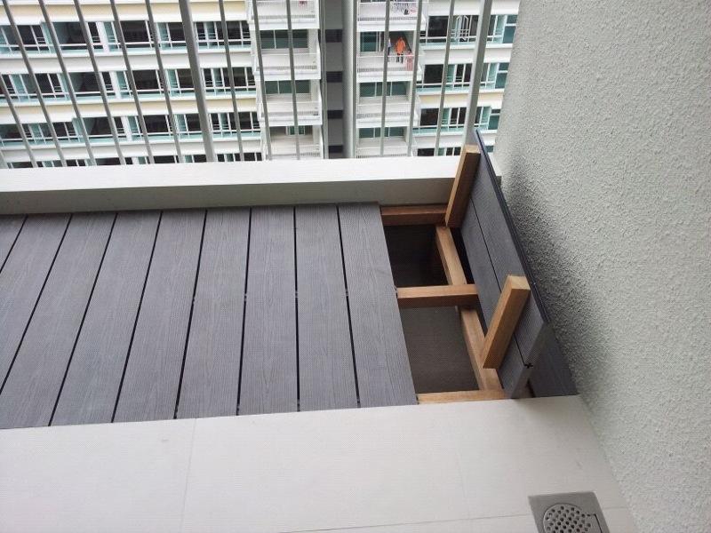 Facade Decking Exterior Boards Balcony Decking Floor