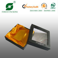 2014 NEWEST ECO-FRIENDLY WHOLESALE SATIN LINED GIFT BOX
