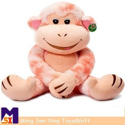 Whloesale china long arms and legs monkey plush toy