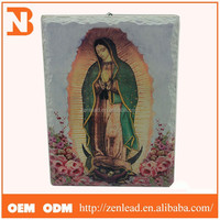 Antique Ceramic Home Decorations Virgin Mary Picture