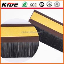 Bottom Door Seal door cleaning strip brush with black nylon