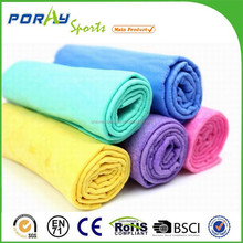 QUICKLY COOLS Unique eco friendly PVA material absorbs PVA ice cooling towel