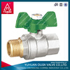 zhejiang manufaturer full port 2pcs long stem ball valve