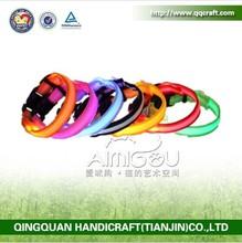 Pet supply discount small MOQ dog training collar led dog collar