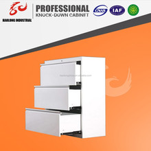 Luoyang office furniture provide stainless steel horizontal filing cabinet