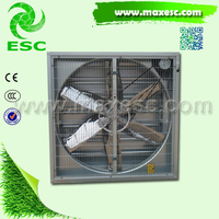 industrial wall mounted louvers exhaust fans with frp blade