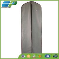 Dust proof grey plastic dress cover bag