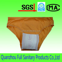 Competitive Price Disposable Stocklot Briefs Sanitary Napkin Underwear