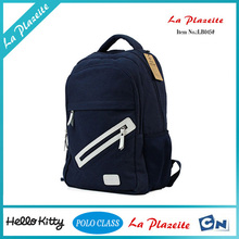 China wholesale 2015 hot selling new design canvas backpack bag