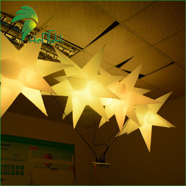 led lighting star shaped balloon (4)
