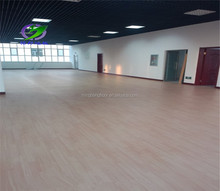 sound proof anti-slip PVC sport floor for dance room