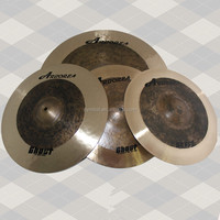 Ghost series Cymbal set, dark cymbals