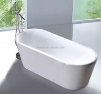 Portable Used Acrylic Bathtub 1700 Size
