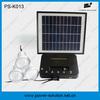 Led mini solar light kits with 3 led bulbs