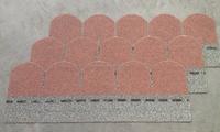 Best Sale Lightweight Roofing Material , Professional Red Fishscale Asphalt Tile