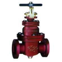 DIN /MSS/JIS rising spindle gate valve