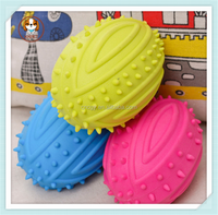 China dog toys pet TPR ball toy squeaky ball dog toys M size