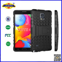 SHOCKPROOF CASE COVER WITH STANDER FOR SAMSUNG GALAXY NOTE 4