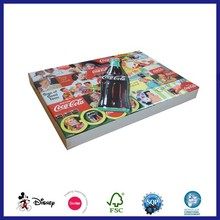 Customized brand handmade paper puzzle