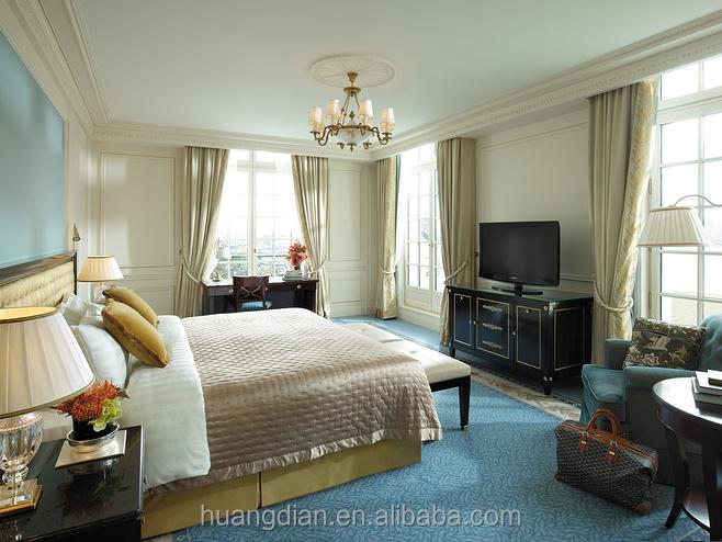 Contemporain 5 toiles l gant h tel chambre mobilier for Chambre a coucher 5 etoiles