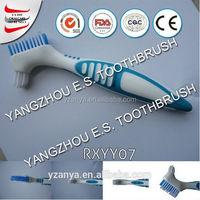 wholesale false teeth toothbrush made in china dupont tynex nylon toothbrush