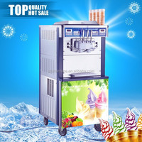 STB-J15 2 flavors + 1 mix ice cream machine for business
