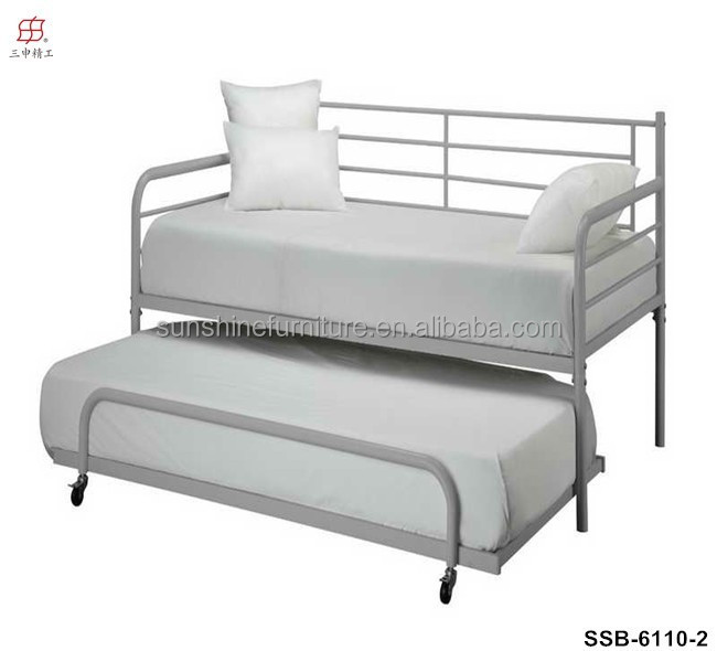 lit gigogne 80x190 prix bas lit gigogne metal blanc. Black Bedroom Furniture Sets. Home Design Ideas