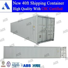 New 20ft 40ft shipping container manufacturer in China