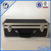 customed high quality heavy duty big black truck aluminum box tools box tools case flight case tool cabinet