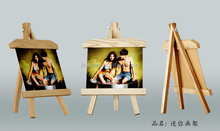 fashion and cheap mini wooden easel painting