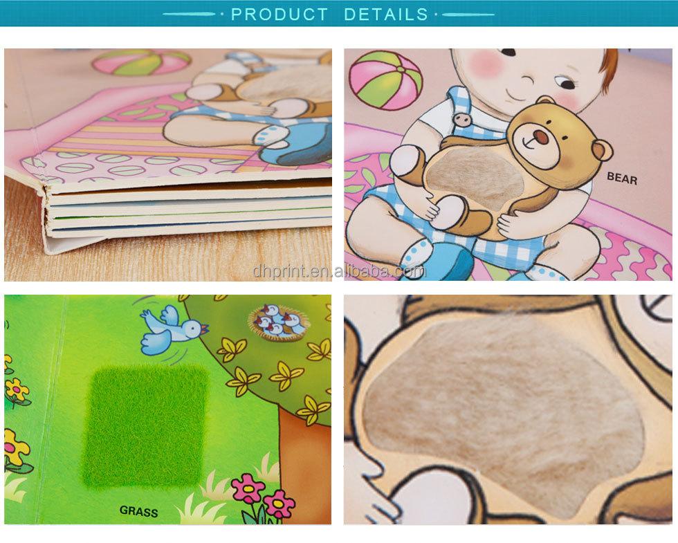 oem alta qualidade crianças colorido fácil cartoon crianças inglês livro de história para crianças