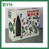 customized cheaper food packaging box with window