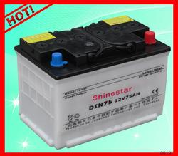 2015 Hot Sale Shinestar Brand dry battery rechargable 12v With Best Wholesale price