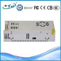 Constant voltage high quality 400W 8.3 amp 48 volt led power supply, 90-250v 48v ac dc transformer