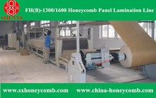 Automatic machine honeycomb cardboard line HF(A)-1300 Deluxe