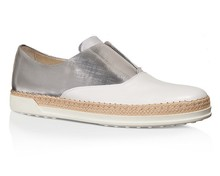 High Quality Flat Sole Wholesale White loafer Shoes
