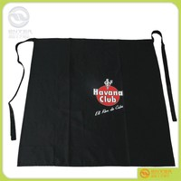 popular sale FASHION waist Apron 100% polyester waterproof aprons , washable Kitchen Apron