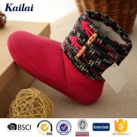 spa woman ankle warm boots