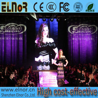 Vivid tv video wall full color hd P6 indoor led display board for wedding/concert