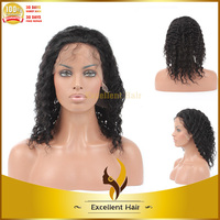 Highest quality full lace wig with 100% top grade human remy hair looking natural and wearing comfortable hair wig for momen