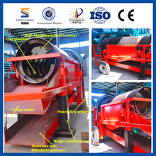 Widely Used Trommel for Gold Mineral Separator