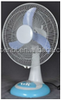 12V rechargeable electric table fan 12 inch