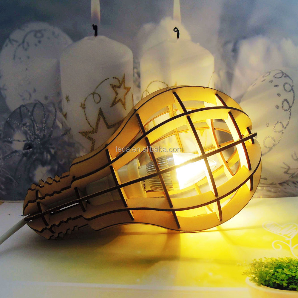 Wood Light Lampshade (13)