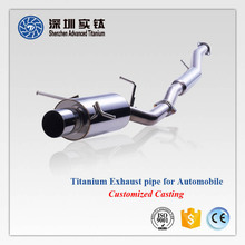 Hot sale titanium flexible motorcycle/ car exhaust pipe and repair kits for truck