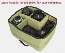 2014 the winter newest style trendy fruit green slr camera inner bags