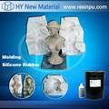 Fabricación de moldes de caucho de silicona líquido RTV moldes para escultura replicación