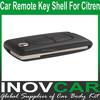 Car Remote Key Shell 2Button For Citroen Auto Remote Key Shell