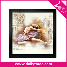 2015 Modern Wall Picture Abstract Dance Lady Painting